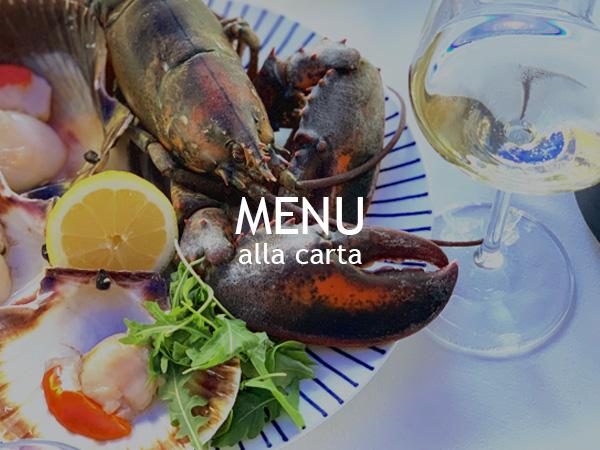 menu al pesciolino